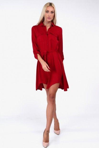 Košeľové šaty moderného strihu fb879edb8d6