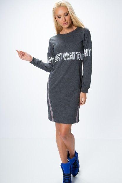a389219bc619 Moderné šaty s dlhým rukávom