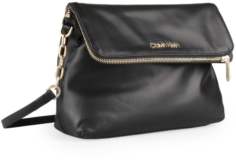 Calvin Klein Dámská crossbody kabelka Fold K60K604442 - černá značky Calvin  Klein - Lovely.sk bdc21d72232