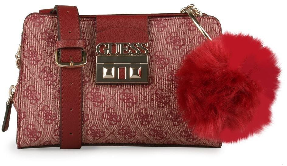 836df4a379 GUESS Dámská crossbody kabelka Logo Luxe HWSG7102140 - červená značky Guess  - Lovely.sk