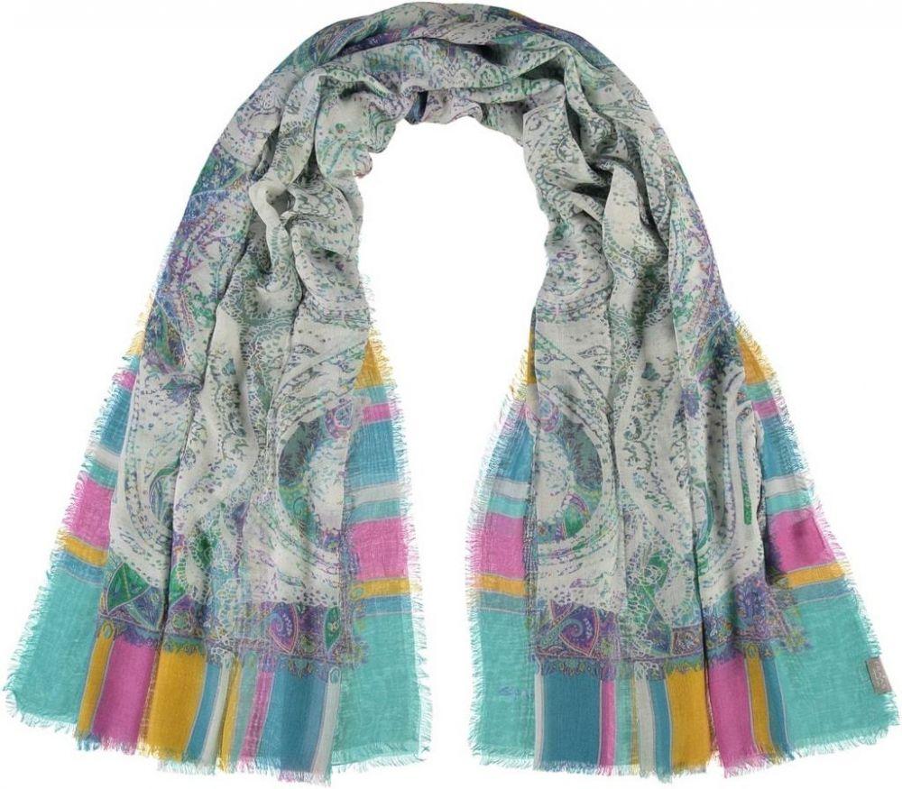Fraas Dámský obdélníkový šátek 682410 - modrá značky Fraas - Lovely.sk 822bf5d845
