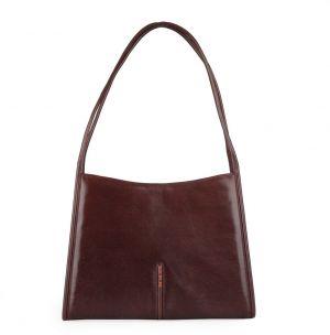 Hajn Dámská kožená kabelka přes rameno 1135014 hnědá a4e73c1a20d
