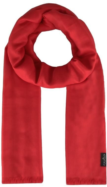 068dac4c915 Fraas Dámský obdélníkový kašmírový šátek 658045 - červená značky ...