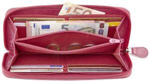 638c53e61 Travelite Dámská kožená peněženka Lichtblau 5000-01 značky Travelite ...
