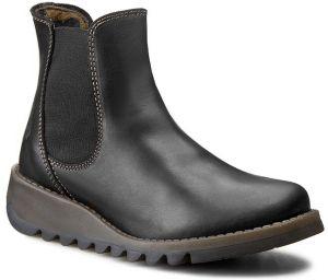 0a6049525189 Čierne dámske kožené chelsea topánky FLY London značky Fly London ...