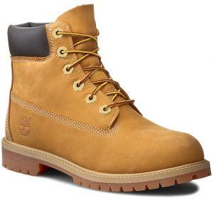 Outdoorová obuv TIMBERLAND - 6in Prem Wheat 12909 TB0129097131 Wheat Nubuc  Yellow 76582102bfe
