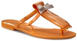 Žabky MELISSA - T Bar III Ad 31683 Orange 01471