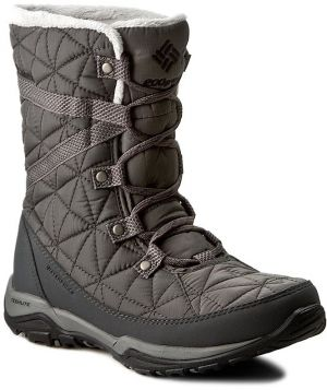 Snehule COLUMBIA - Loveland Mid Omni-Heat BL1743 Quarry/Black 052