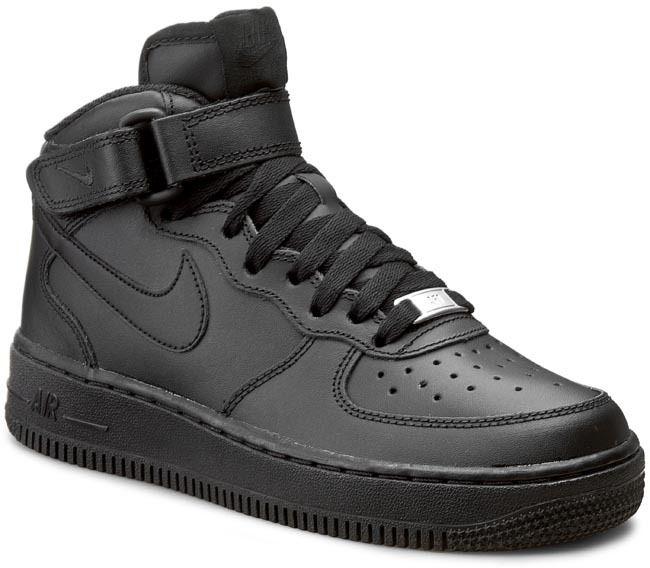 Topánky NIKE - Air Force 1 Mid (GS) 314195 004 Black Black značky Nike -  Lovely.sk 1a6d5bf3bce