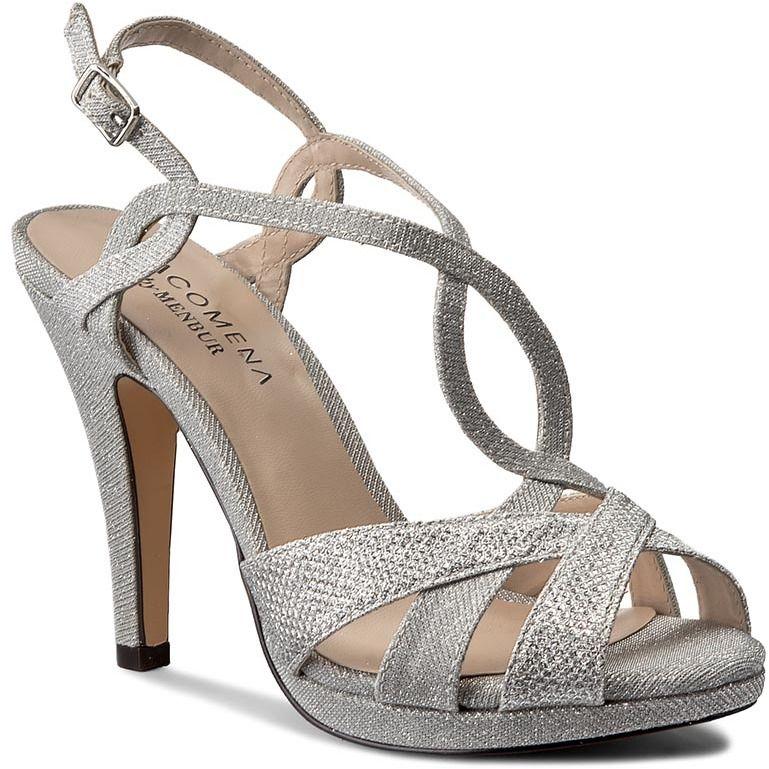 9e3c6fa5b168 Sandále MENBUR - PACOMENA 06281 Silver 0009 značky Menbur - Lovely.sk