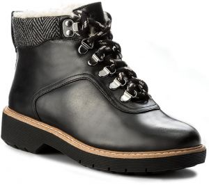 Členková obuv CLARKS - Witcombe Rock 261273174 Black Leather