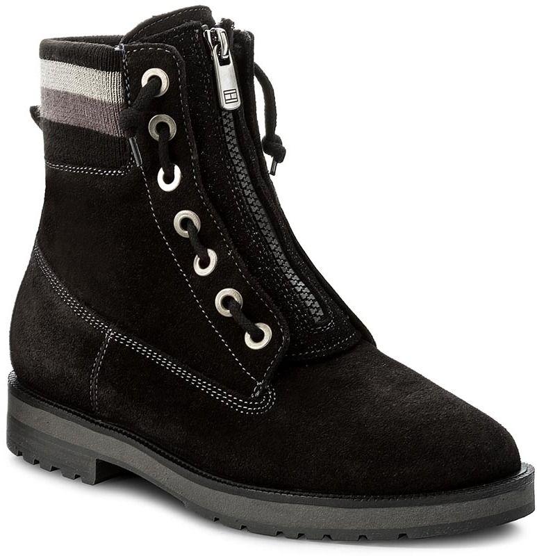Členková obuv TOMMY HILFIGER - West 9B FW0FW01534 Black 990 značky ... 7ee3e8f361a