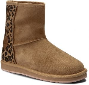 Topánky PEPE JEANS - Angel Leopard PGS50106 Camel 855
