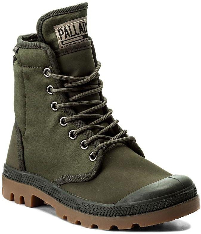Outdoorová obuv PALLADIUM - Pampa Solid Ranger Tp 75564-368-M Army Green  53406ee2891