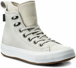 Sneakersy CONVERSE - Ctas Wp Boot Hi 557944C Pale Putty/Pale Putty/White