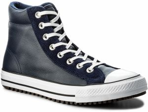 Tramky CONVERSE - Ctas Boot Pc Hi 157495C Midnight Navy/White