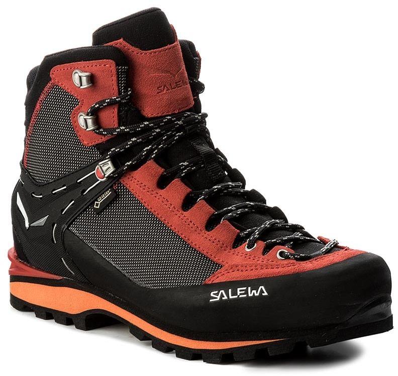 c4cc52e128f Trekingová obuv SALEWA - Crow Gtx GORE-TEX 61328-0935 Black Papavero značky  Salewa - Lovely.sk