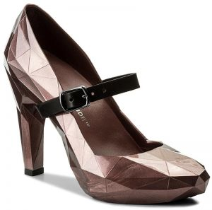 Poltopánky UNITED NUDE - Lo Res Pump 1002914221 Bronze