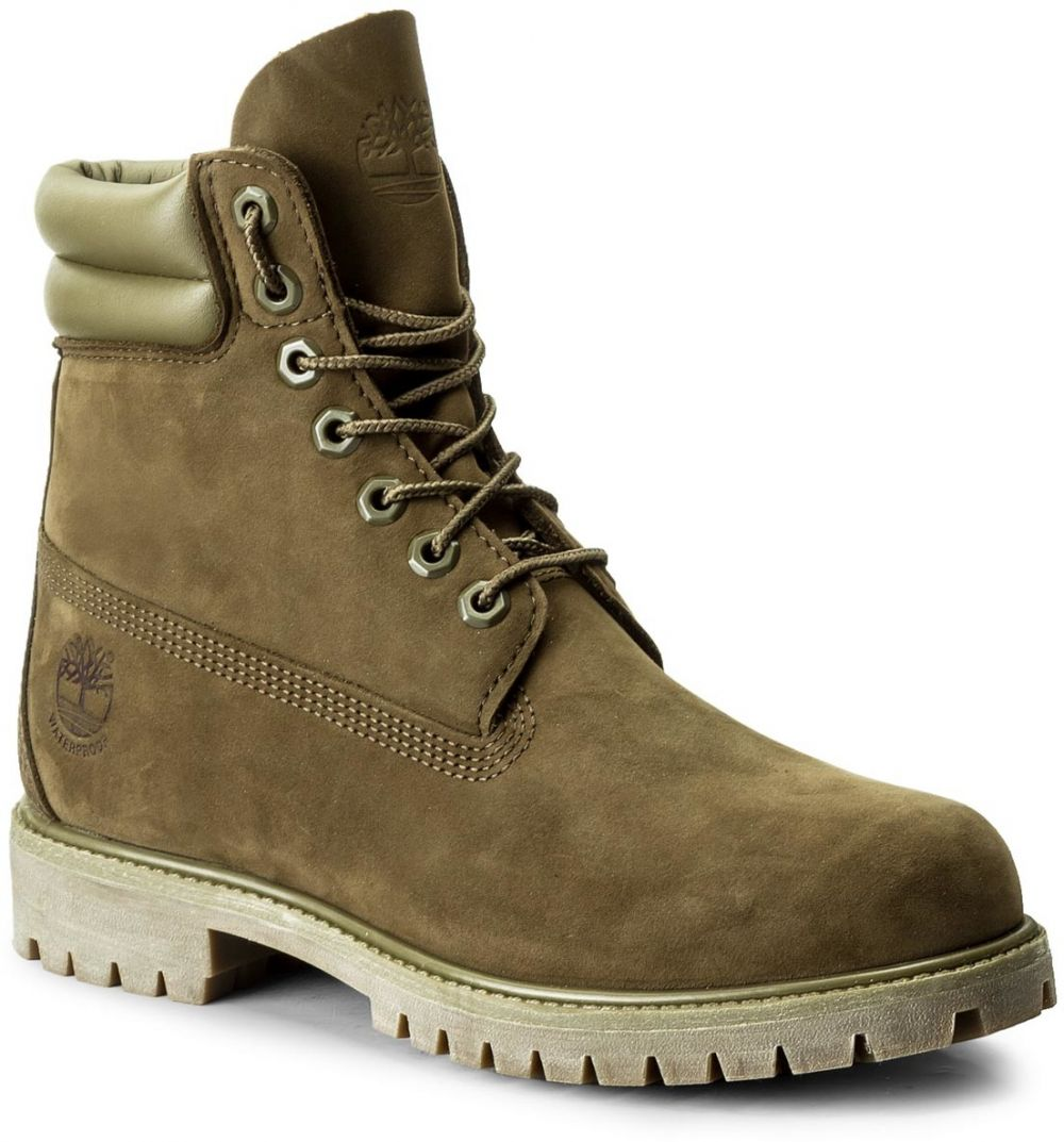 Outdoorová obuv TIMBERLAND - 6 In Double Collar B A1KPG Dark Olive ... 0a40d801516