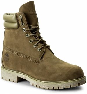 Outdoorová obuv TIMBERLAND - 6 In Double Collar B A1KPG Dark Olive
