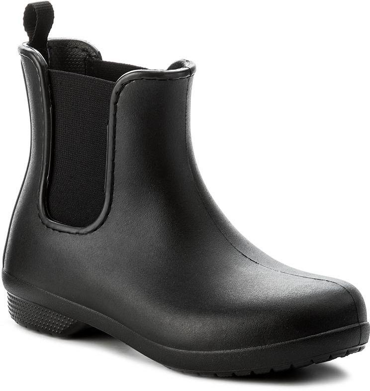 e2bf12e9c6 Gumáky CROCS - Freesail Chelsea Boot W 204630 Black Black značky ...