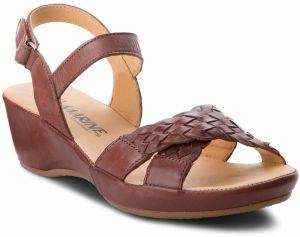 15b93c75d3af Sandále LA MARINE - Silene Brown Marron