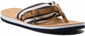 Žabky S.OLIVER - 5-27112-30 Navy Stripes 836