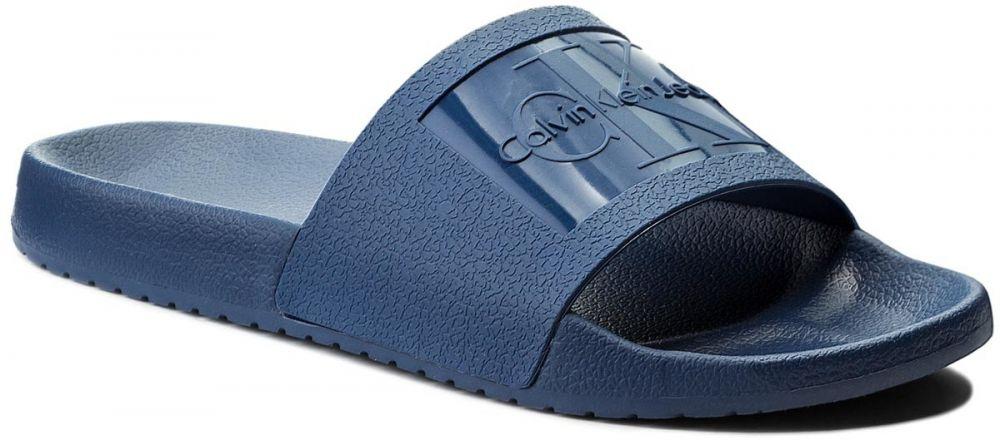 e21b980b6 Šľapky CALVIN KLEIN JEANS - Vincenzo S0547 Steel Blue značky Calvin Klein  Jeans - Lovely.sk
