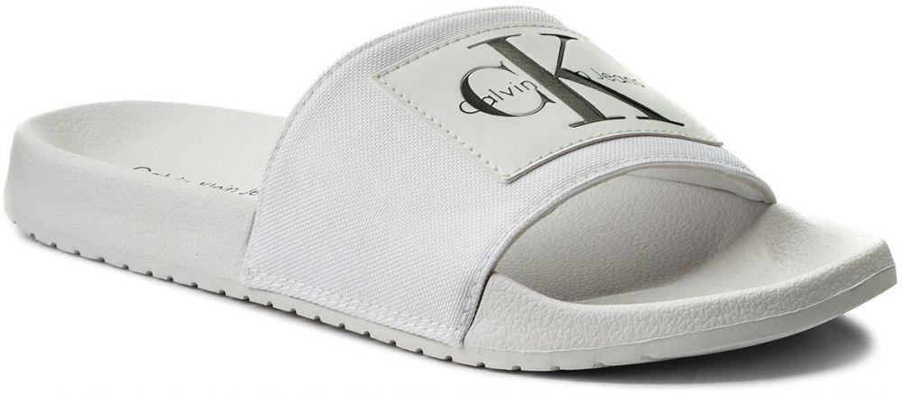 2e63e1a26 Šľapky CALVIN KLEIN JEANS - Vital S0548 White značky Calvin Klein ...
