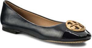 Baleríny TORY BURCH - Chelsea Cap - Toe Ballet 46882 Perfect Navy 416