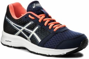 Topánky ASICS - Patriot 9 T873N Indigo Blue/Silver/Flash Coral 4993