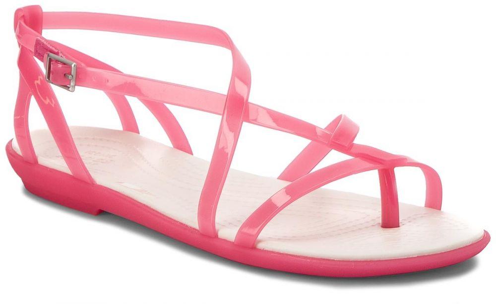 9d4f1f5aea7b9 Sandále CROCS - Isabella Gladiator Sandal W 204914 Paradise Pink/Oyster