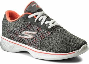 Topánky SKECHERS - Exceed 14146/CCCL Charcoal/Coral
