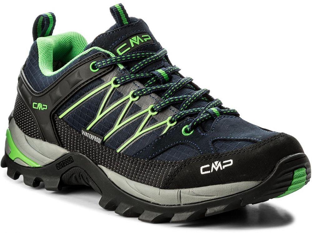2d315c730d334 Trekingová obuv CMP - Rigel Lowtrekking Shoes Wp 3Q54457 B.Blue/Gecko 51AK