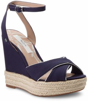 Espadrilky PEPE JEANS - Walker Lenny PLS90295 Sailor 580