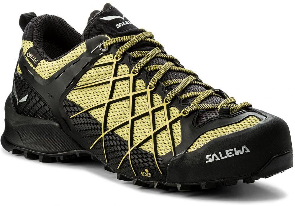 a5de49a60a3 Trekingová obuv SALEWA - Wildfire Gtx GORE-TEX 63487-0497 Black Out Mimosa  značky Salewa - Lovely.sk
