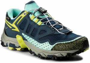 Topánky SALEWA - Ultra Train Gtx GORE-TEX 64411-8670 Dark Denim/Aruba Blue