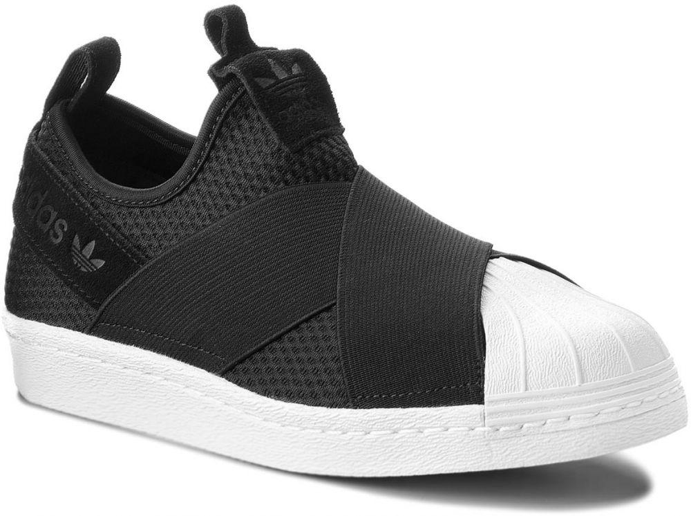 Topánky adidas - Superstar Slip On W B37193 Cblack Cblack Ftwwht ... fabc85de7ff