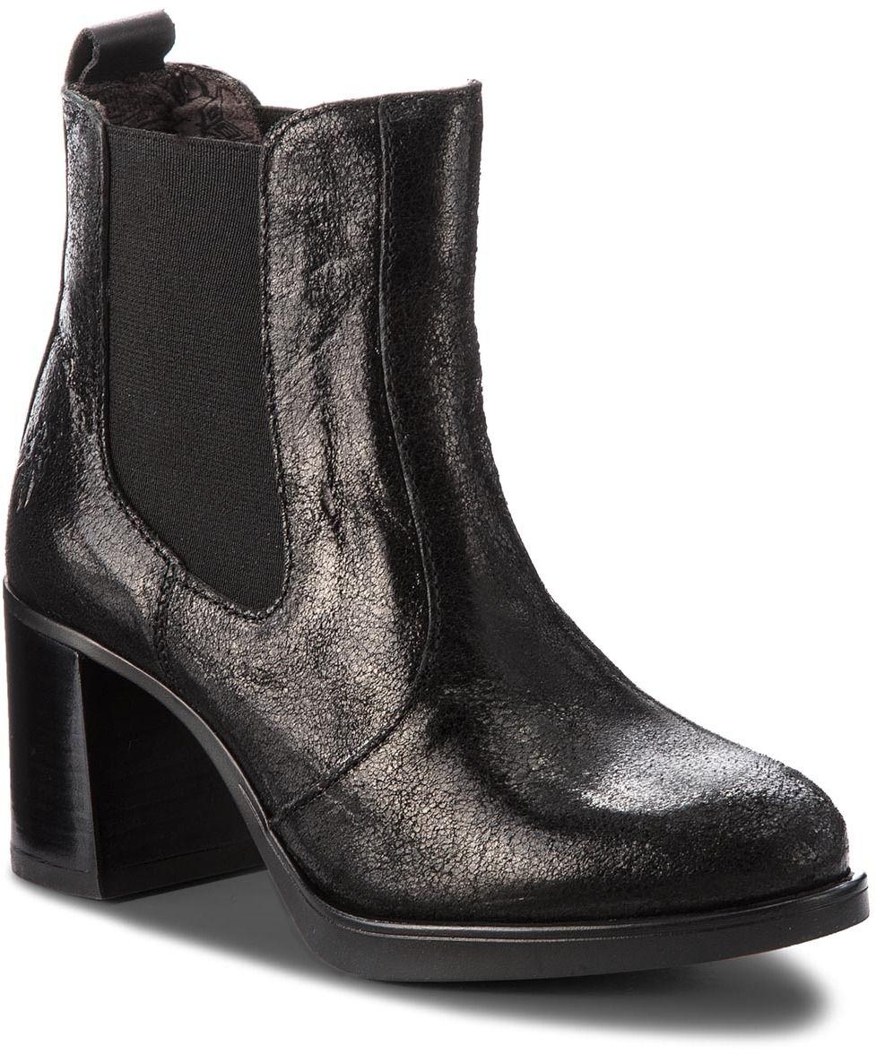70c8cb49079e Kotníková obuv s elastickým prvkom FLY LONDON - Sehofly P144372005 Black