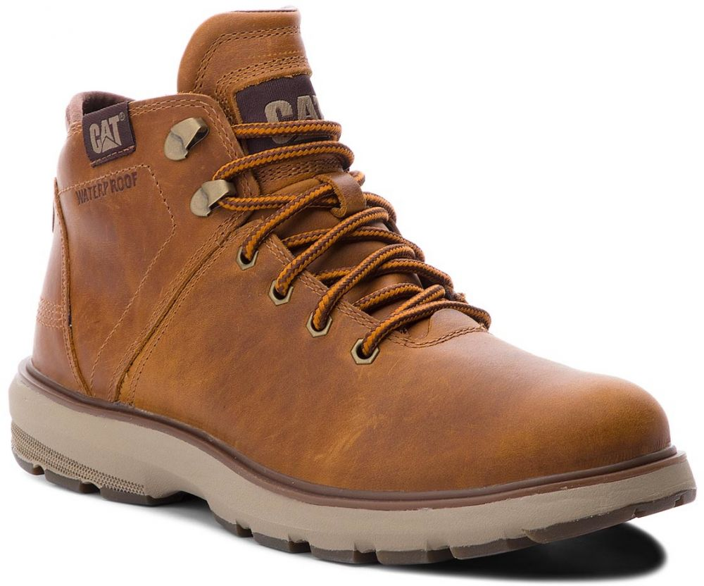 Outdoorová obuv CATERPILLAR - Factor Wp Tx P722924 Brown značky CATERPILLAR  - Lovely.sk aa628a23082
