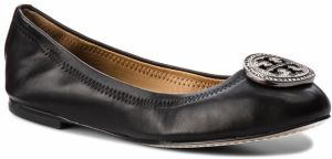 Baleríny TORY BURCH - Liana Ballet Flat 46084 Perfect Black 001