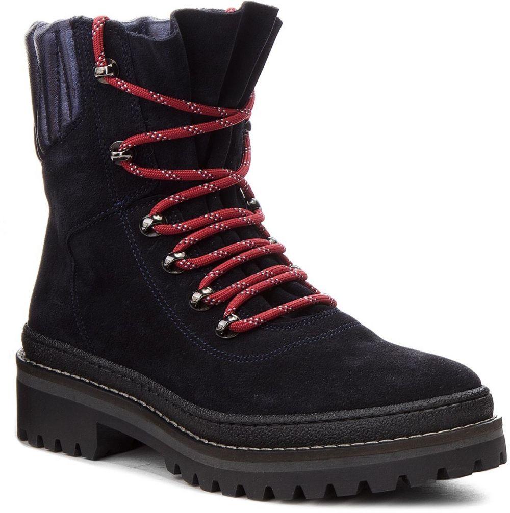 Outdoorová obuv TOMMY HILFIGER - Modern Hiking Boot Suede FW0FW03048 Midnight  403 značky Tommy Hilfiger - Lovely.sk 72a2bba31c9