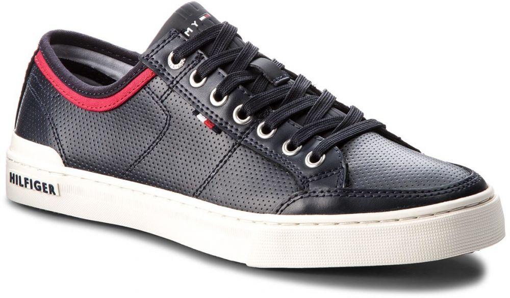 6d5fa60fe3 Sneakersy TOMMY HILFIGER - Core Leather Lace Up FM0FM01903 Midnight 403  značky Tommy Hilfiger - Lovely.sk