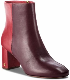 Členková obuv TORY BURCH - Brooke 70mm Bootie 46063 New Claret/Dark Redstone 606