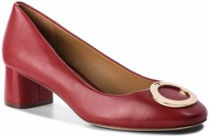 Baleríny TORY BURCH - Caterina 45mm Pump 51541 Dark Redstone 601