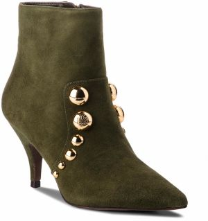 Členková obuv TORY BURCH - Georgina 80mm Stud Bottie 52249 Leccio 325
