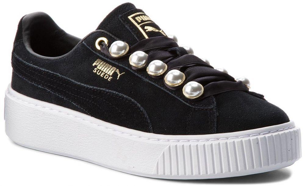 Sneakersy PUMA - Suede Platform Bling Wn s 366688 01 Puma Black Puma Black  značky Puma - Lovely.sk eb03a4961fa