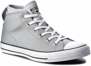 Tramky CONVERSE - Ctas Syde Street Mid 157538C Wolf Grey/Wolf Grey/White