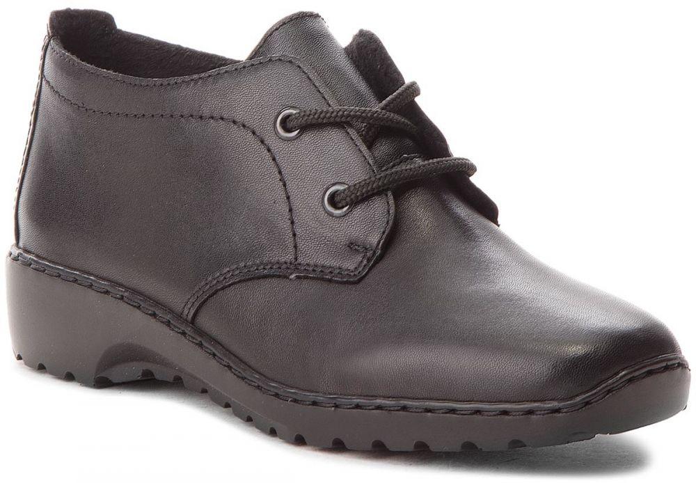 30a6c674a8 Členková obuv RIEKER - L6040-00 Schwarz značky RIEKER - Lovely.sk