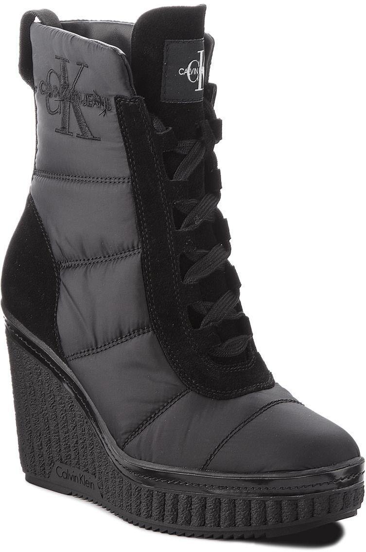 91b32b472f Členková obuv CALVIN KLEIN JEANS - Sole RE9774 Black značky Calvin Klein  Jeans - Lovely.sk